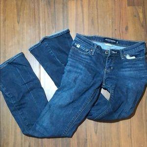 Denim - Abercrombie boot cut jeans